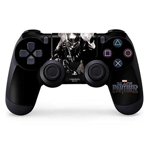 Black Close Panther Up (Black Panther PS4 Controller Skin - Black Panther Up Close | Marvel & Skinit Skin)