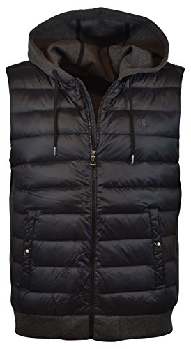 Polo Ralph Lauren Men's 750 Fill Double-Knit Down Vest, L, Windsor Heather (Ralph Lauren Embroidered Vest)