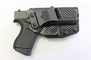 Multi Holsters Elite Glock 43 IWB FOMI Right Hand Holster (Black Carbon Fiber)