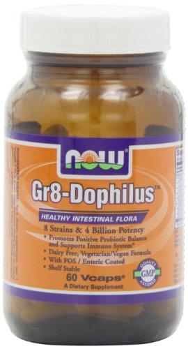 NOW Gr8 Dophilus 60 Veg Capsules