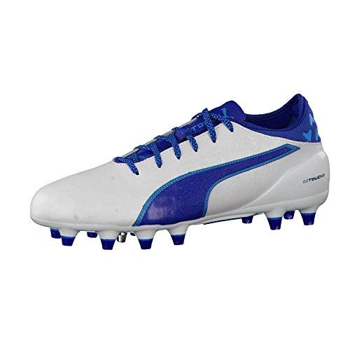 2 Compétition Puma Chaussures Homme Football Blanc Evotouch De bleu Fg q55UOxp