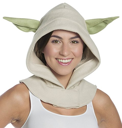 Rubie's Costume Co. Men's Adult Star Wars Yoda Hood, As/Shown, One Size