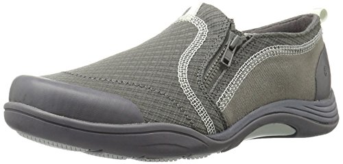 Grasshoppers Women Elite Zip Fashion Sneaker Grey