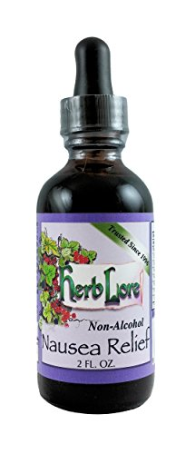 Organic Nausea Relief Tincture with Peppermint and Ginger - Non Alcohol - 2 Ounce - Vegan Liquid Anti Nausea Medicine for Pregnancy, Adults and Kids - Herb ()
