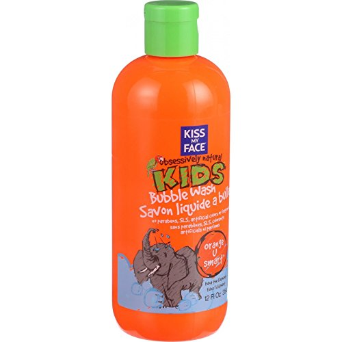 Kiss Kids Obsessively Natural (Kiss My Face Bubble Wash - Orange U Smart - Obsessively Natural Kids - 12 oz)