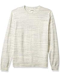 Amazon Brand - Goodthreads Men's Soft Cotton Crewneck Summer Sweater