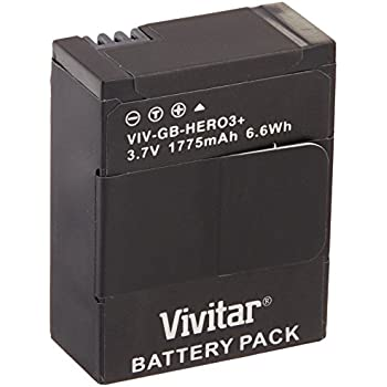 Amazon Com Vivitar Replacement Battery Pack For Gopro