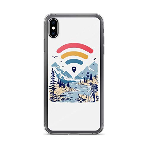 iPhone Xs Max Pure Clear Case Cases Cover Internet Explorer Count on Me Hiking]()