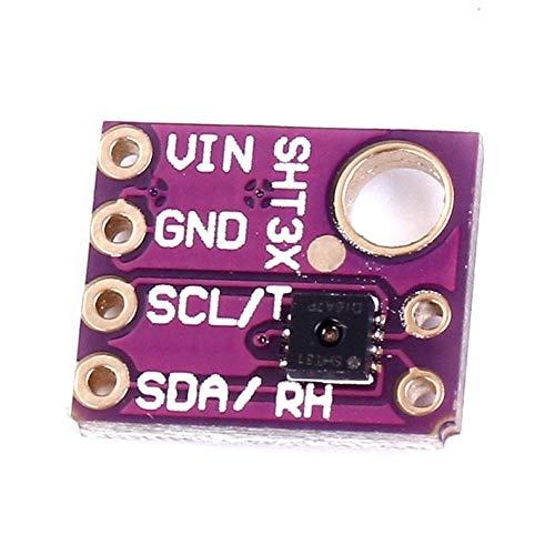 Justdodo SHT31 SHT31-D Temp/érature et humidit/é Capteur Breakout M/ét/éo pour Arduino I2C Interface Module capteur num/érique