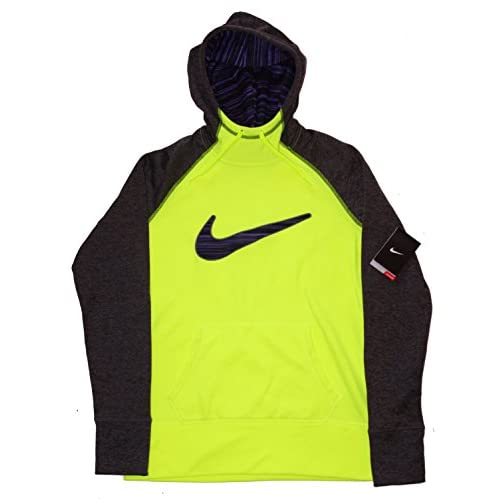 94500a95febd Nike Womens Therma Fit Swoosh Pullover Hoodie Sweatshirt Thumbholes Medium  free shipping