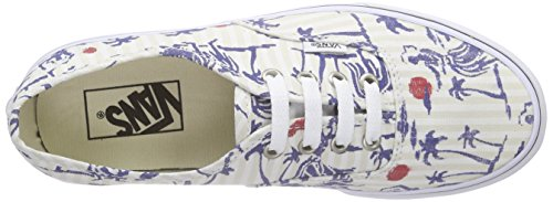Authentic Unisex Scarpe Hula Vans Adulto White Stripes True Basse da Multicolore Ginnastica Undfnx6HOW