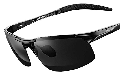 QMOT Material Aviation aluminum-magnesium polarized sunglasses driving - Sunglasses S.t.dupont