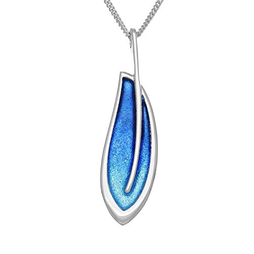 Ortak Leah Pendentif Argent ep148 Midnight Sapphire