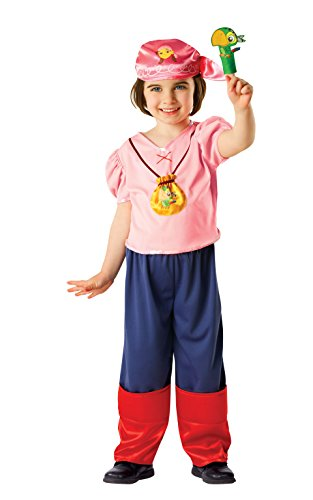 Rubie's Official Disney Jake And The Neverland Pirates Izzy Costume, -