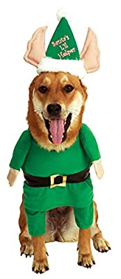 Rubie's Costume Santa's Little Helper Elf Pet Costume by Rubies Decor