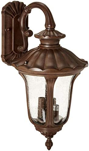 Acclaim 3852BW Augusta Collection 3-Light Wall Mount Outdoor Light Fixture
