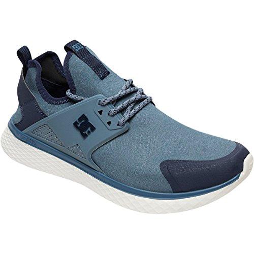 Dc Mens Méridien Chaussures De Skate Prestige Bleu Cendres