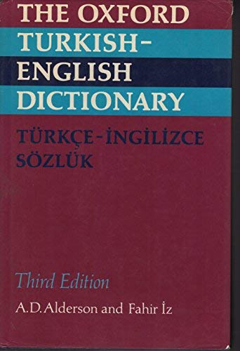 The Oxford Turkish-English Dictionary (Best Turkish English Dictionary)
