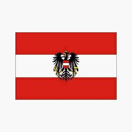 amazon com austria flag with eagle polyester 3 ft x 5 ft
