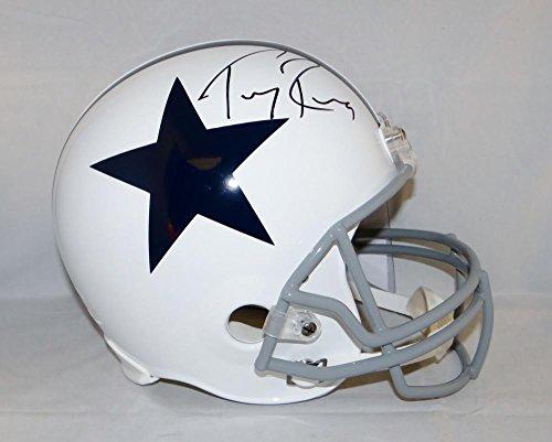 Tony Romo Autographed Helmet - Full Size 60 63 TB W Auth - JSA Certified - Autographed NFL Helmets (Tony Romo Helmet Autographed)