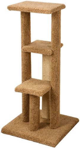 Pacific Pets Triple Platform Kitty Gym : Color NATURAL