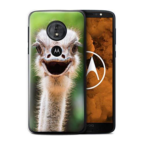 - eSwish Phone Case/Cover for Motorola Moto G6 Play 2018 / Ostrich/Emu Design/Wildlife Animals Collection