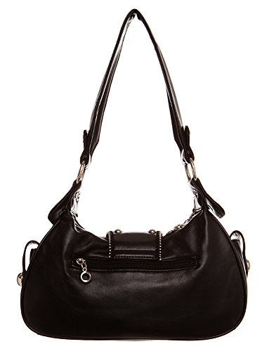 All Black Handbags For Classic Crown Shoulder Hobo Handbag by Inspired nYC8qwCz