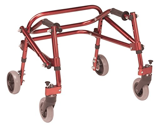 Inspired by Drive Nimbo 2G Lightweight Posterior Walker, Castle Red, E