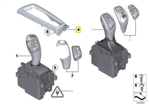 Original 5 6 7 X3 X4 Series Automatischer Schaltknauf LHD 9189064 OEM