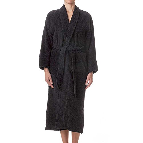 Classic Terry Robe (eLuxurySupply Unisex Robes - 100% Long Staple Cotton Hotel/Spa Plush Robes - Classic Terry Cloth Towel Unisex Long Robe)