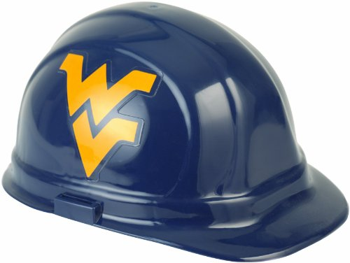 NCAA West Virginia Mountaineers Hard Hat, One Size