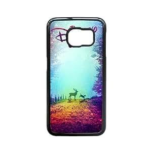 Generic for Samsung Galaxy S6 Edge Cell Phone Case Black Bambi Custom HSOFHFHOJ1807