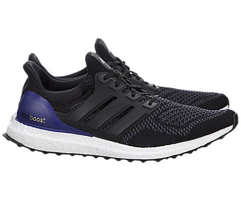 Adidas Men's Ultra Boost Black/Purple Running Men US