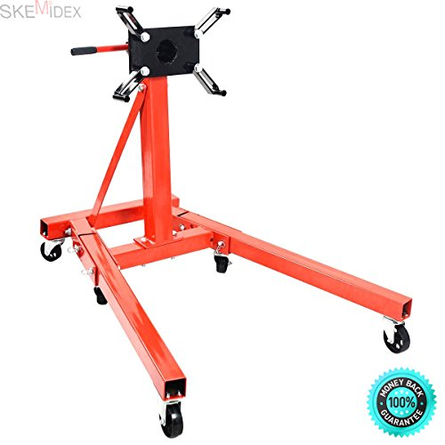 SKEMIDEX---Engine Motor Stand Hoist 2000lb Automotive Car Truck Folding Shop Jack Durable and Easy to Clean - House Deals And home garage equipment & automotive equipment depot And auto shop supplies (Truck Engine Specifications)