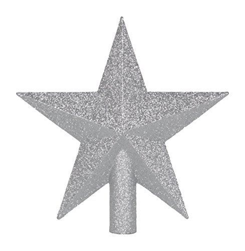 Queens of Christmas WL-TOP-09-SLV-STAR Star Topper, 9