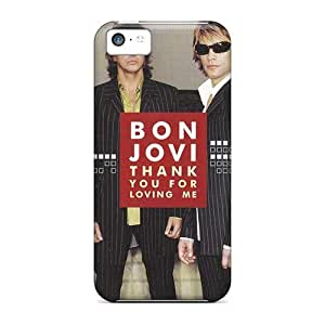 Bumper Hard Phone Cases For Iphone 5c With Support Your Personal Customized Beautiful Bon Jovi Pictures IanJoeyPatricia