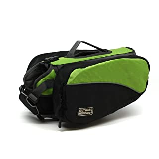 Outward Hound Kyjen 2499 Dog Backpack, Small, Green (B0081XIH4E) | Amazon price tracker / tracking, Amazon price history charts, Amazon price watches, Amazon price drop alerts