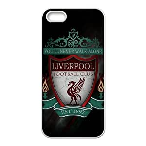 Liverpool Logo 002 iPhone 4 4s Cell Phone Case White TPU Phone Case RV_566322