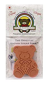 Brown Sugar Bear Original Brown Sugar Saver and Softener, Terracotta