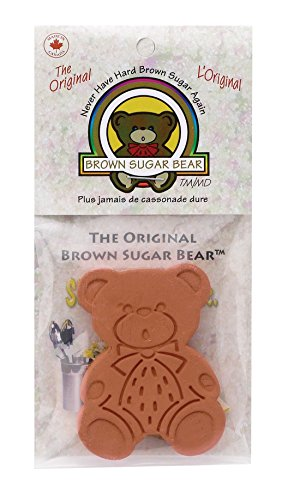 (Brown Sugar Bear 54923 Original Brown Sugar Saver and Softener, Single,)