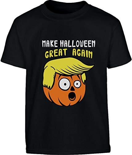 Anni Again Per Trump'kin zucca Nero Halloween Great Maglietta Bambini 9 Ragazzi E 140cm 10 Make Shirtgeil 1qxnOTtF0T