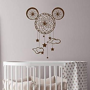 Pbldb Nursery Dream Catcher Sticker De Pared Mickey Mouse Ears ...