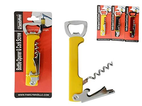 Bottle Opener & Cork Screw (Units per case: 24)
