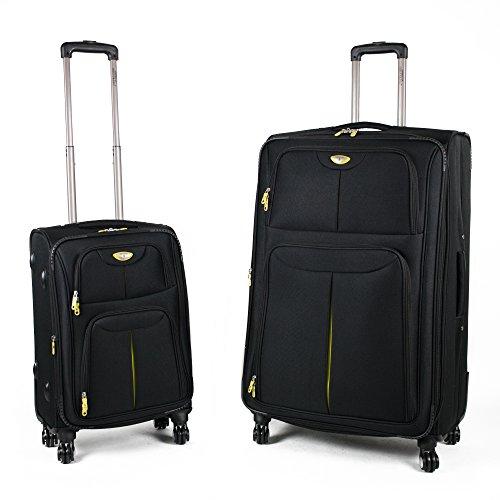 American Green Travel Trooper Luggage Set, Black by American Green Travel