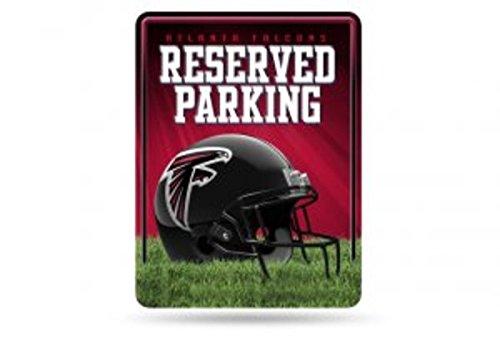 Atlanta Falcons Metal (NFL Atlanta Falcons Hi-Res Metal Parking Sign)