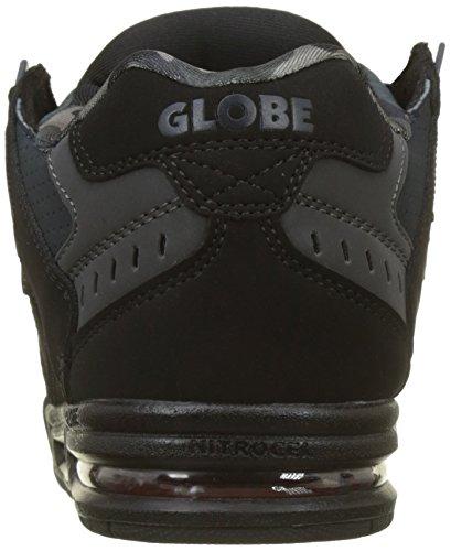 Hombre Globe Zapatillas 000 Sabre de Night para Multicolor Deporte Red Black Xqrrf5w