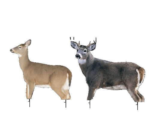 Dream Team Buck and Doe by Montana Decoy