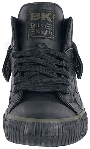 Sneaker Herren Hohe Schwarz British Knights Roco Khaki wAqpUI