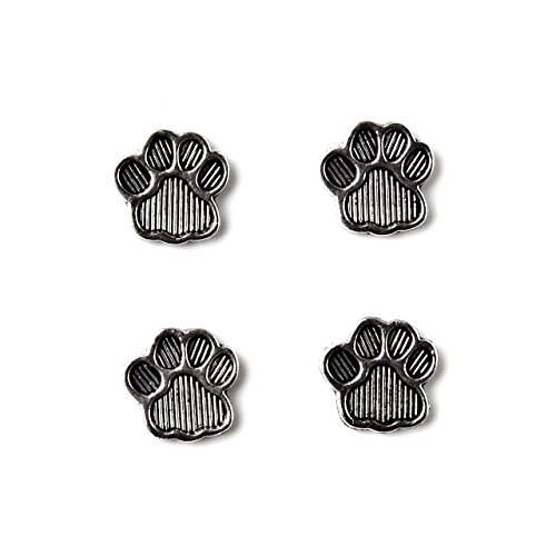 Quality Handcrafts Guaranteed Paw Tuxedo Studs by Quality Handcrafts Guaranteed