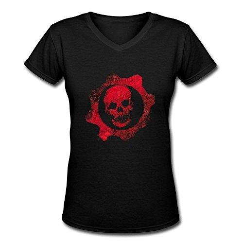 GLYCWH Women's Gears Of War T-Shirt Fashion